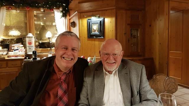 Hier mit Prof. Dr. rer. nat. Josef Specht